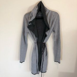 Soft and cozy duster cardigan